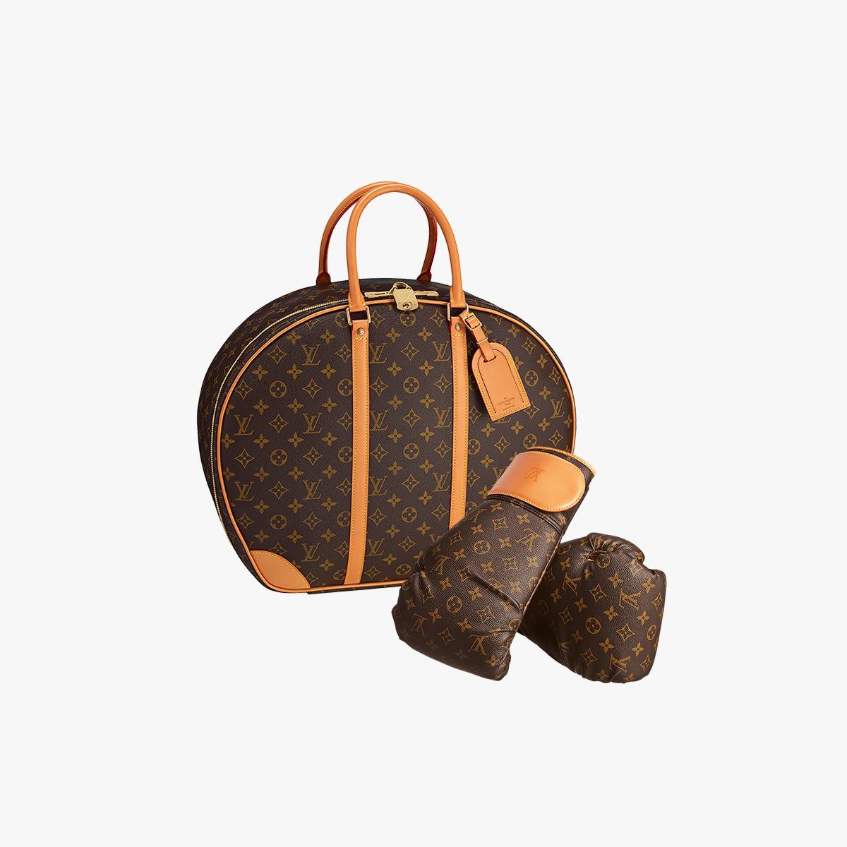boxe 138 000 le sac de frappe louis vuitton dessin par. Black Bedroom Furniture Sets. Home Design Ideas