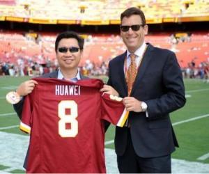 Huawei devient Partenaire Officiel des Washingtons Redskins (NFL)