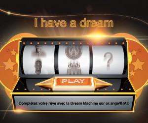 Le 12ème homme Orange lance son générateur de rêves en ligne avec la «Dream Machine»