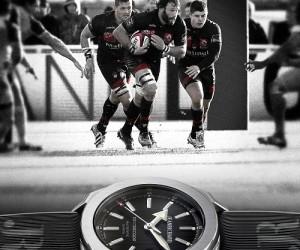 JEANRICHARD devient «montre officielle» du LOU Rugby