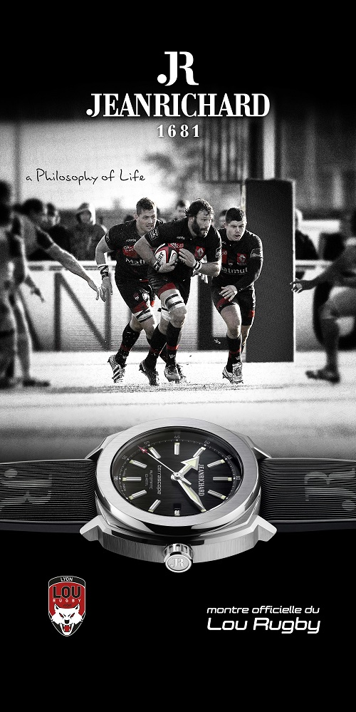 jeanrichard lou rugby montre officielle
