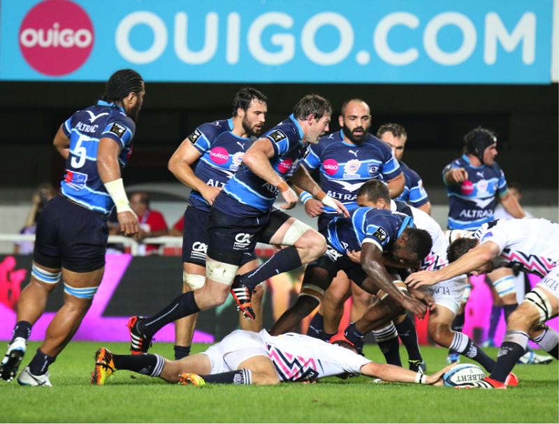 montpellier rugby OUIGO sponsor MHR