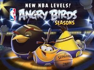 Le jeu mobile Angry Birds aux couleurs de la NBA !