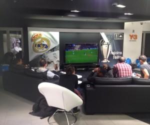 adidas célèbre la Champions League avec son club lounge UCL installé dans le store des Champs Elysées