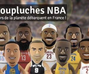 (Résultats du concours) – Gagne ta Poupluche NBA LeBron James, Kobe Bryant et Tony Parker !