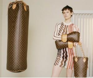 Boxe : 138 000€ le sac de frappe Louis Vuitton dessiné par Karl Lagerfeld