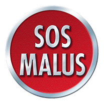 SOS Malus nouveau sponsor au dos du maillot du SM Caen