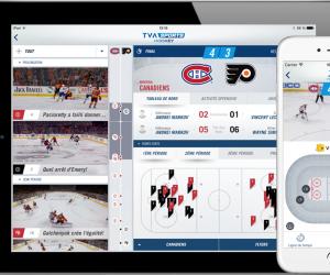 Netco Sports enrichit l'expérience des Fans de hockey au Québec avec l'application TVA Sports Hockey