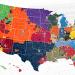 twitter #NFL fan map