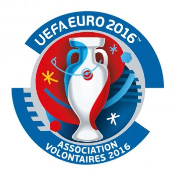 volontaires euro 2016 logo UEFA