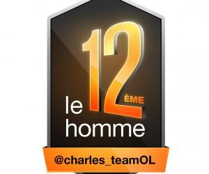 Orange affiche le compte Twitter de 12 Fans sur le maillot de l'OL jusqu'à la fin de la saison avec #Le12emeGone