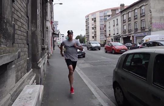 Diego Rigonato race the tube stade de reims