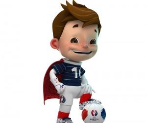 La Mascotte de l'UEFA EURO 2016 s'appellera Driblou, Goalix ou Super Victor