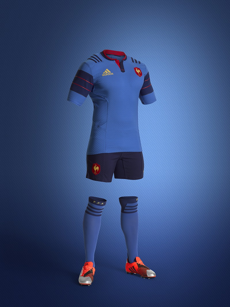 Rugby Nouveau Maillot De L Equipe De France Adidas