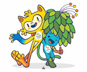 Mascottes des JO de Rio 2016 et des Paralympiques