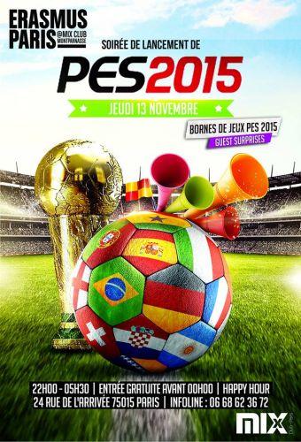 PES 2015 mix club erasmus