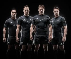 Rugby – Nouveau Maillot des All Blacks (adidas)
