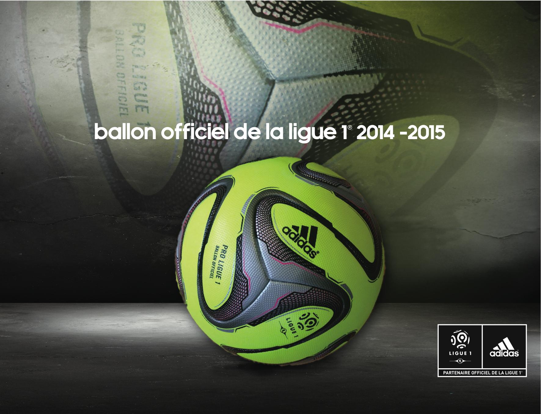 Ballon Ligue 1 2015 Adidas Pro