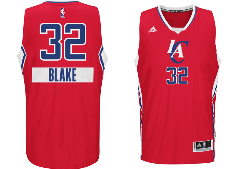 chrismas jersey 2014 NBA Blake griffin LAC first name