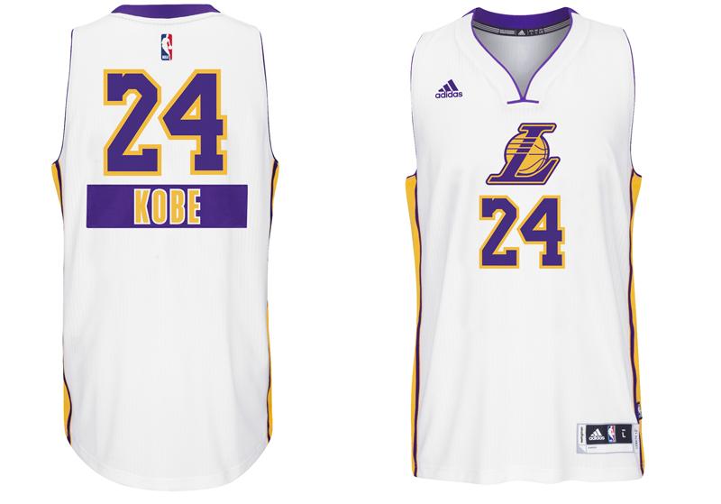 chrismas jersey 2014 NBA Kobe los angeles lakers first name