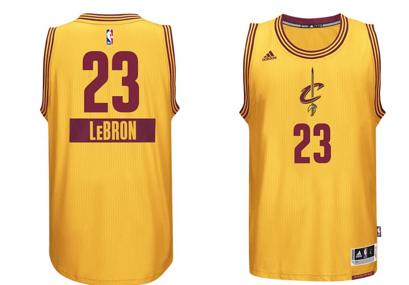 chrismas jersey 2014 NBA Lebron james cavaliers first name