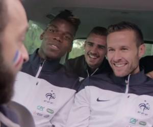 Volkswagen lance un site de covoiturage pour les matchs de l'Equipe de France de Football