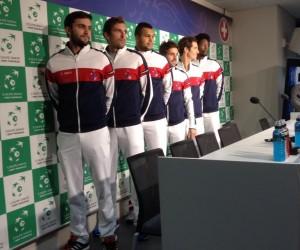 L'équipe de France à la conquête de la Coupe Davis