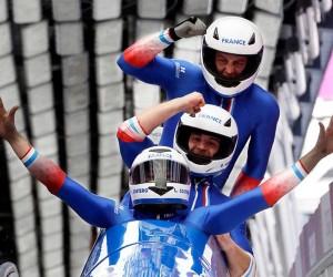 «Le grand saut by Fosburit» : le bobsleigh français prend de la vitesse