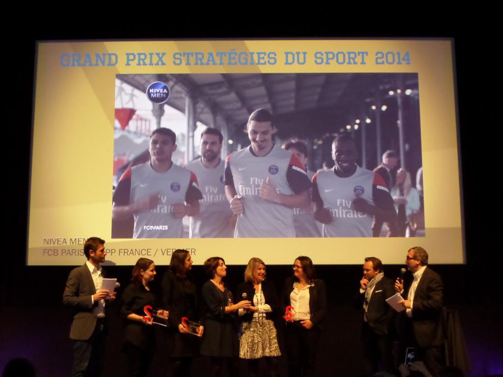 grand prix stratégies du sport 2014 nivea PSG