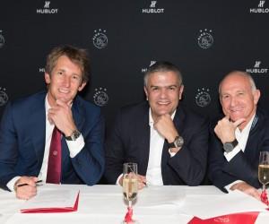 L'horloger Hublot prolonge son partenariat avec l'Ajax Amsterdam