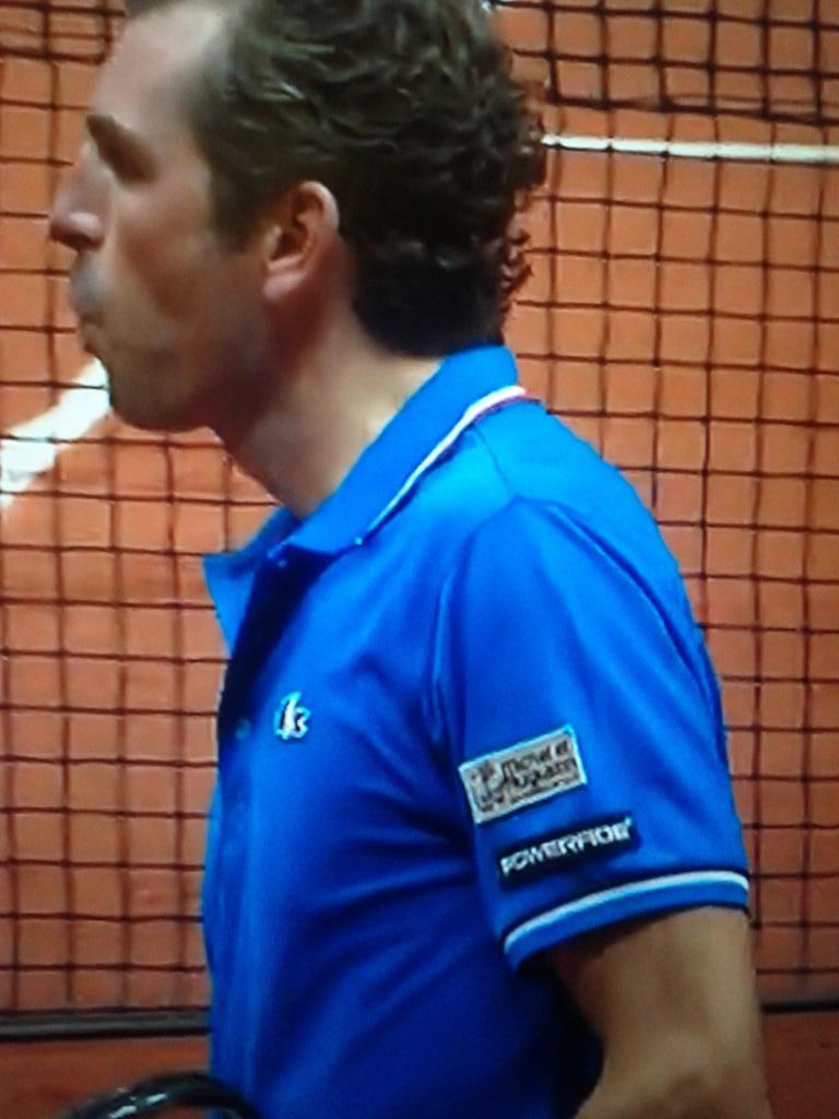 julien benneteau michel et augustin sponsoring finale coupe davis tennis
