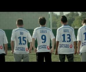 Turkish Airlines réunit les joueurs de l'OM et les supporters du club avant le classico PSG-OM