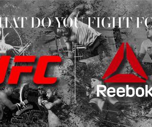 Reebok signe avec l'UFC et habillera les combattants dans l'octagone