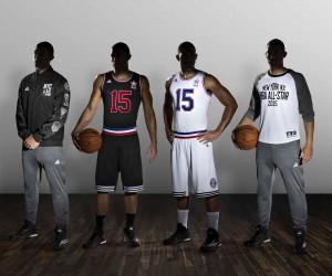 La NBA et adidas affichent le nom + prénom sur les maillots du All Star Game 2015 de New York