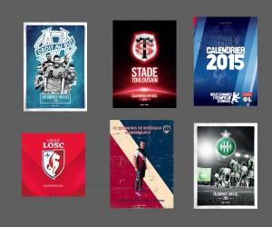 [CONCOURS SBB] OM, ASSE, OL, LOSC, FCGB, Stade Toulousain… Gagnez votre calendrier mural 2015 !