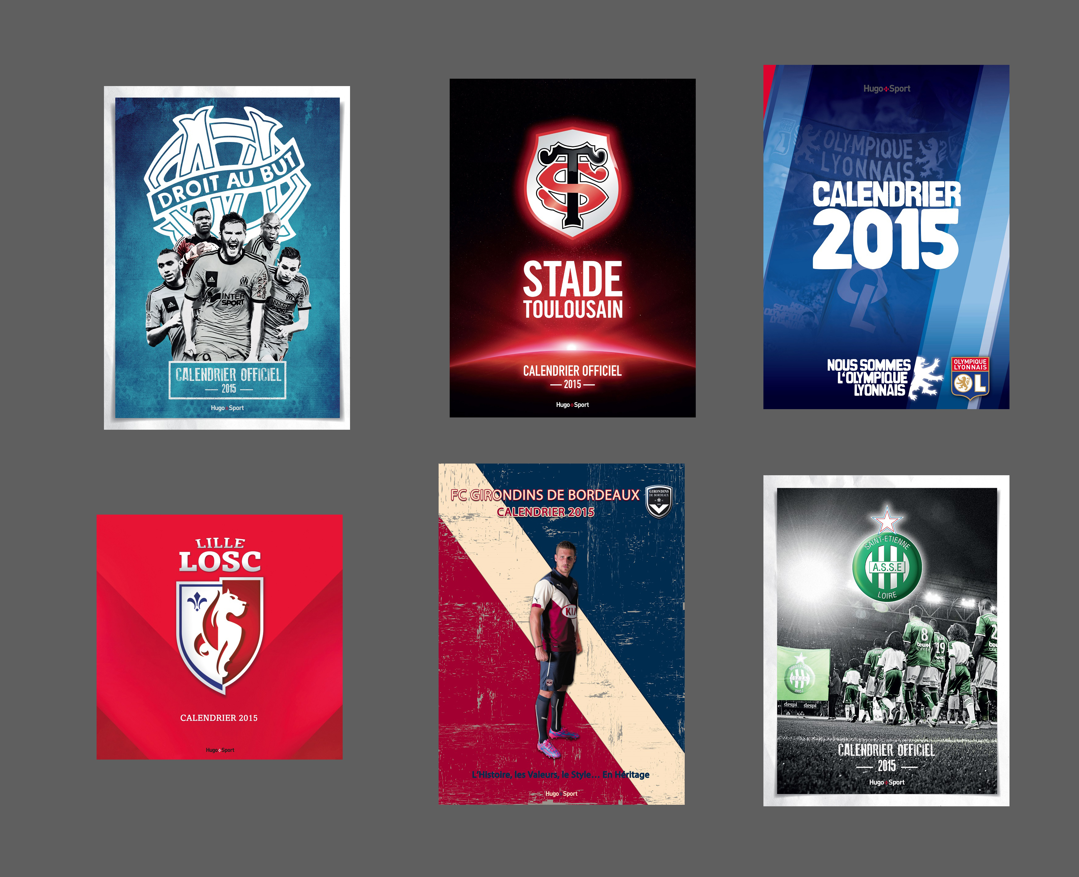 Concours sbb om asse ol losc fcgb stade toulousain for Calendrier mural 2015