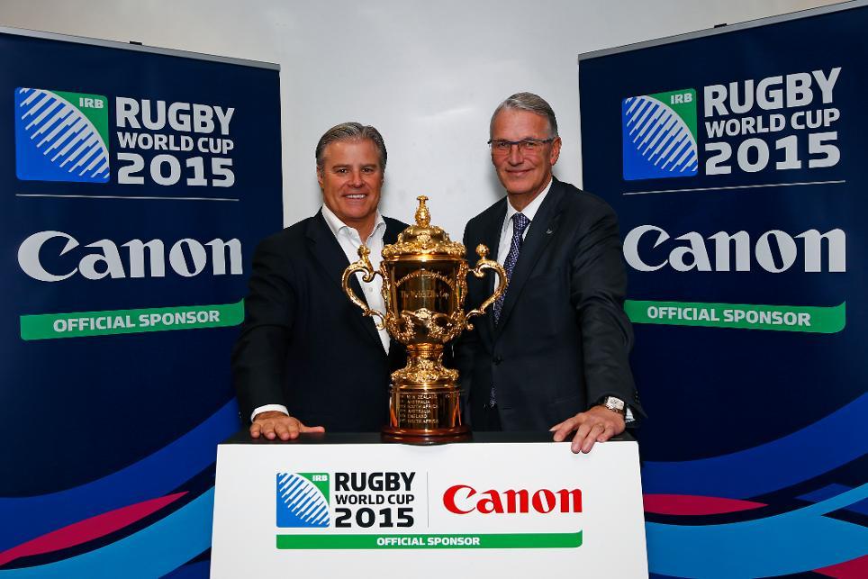 canon sponsor officiel coupe du monde de rugby 2015