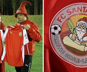 Puma signe avec l'équipe du Père Noël, le FC Santa Claus