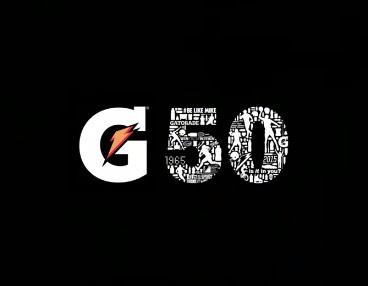 gatorade 50 th anniversary