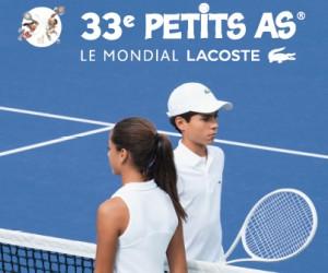 Lacoste nouveau Partenaire-Titre du tournoi de tennis des Petits As rebaptisé Le Mondial Lacoste