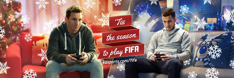 messi VS hazard FIFA 15 ea sports