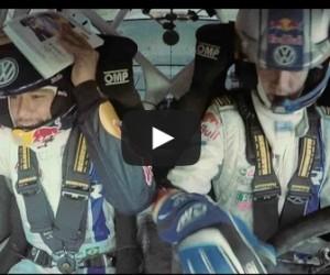 Neymar s'offre un baptème WRC en devenant copilote de Sébastien Ogier grâce à RedBull et Volkswagen