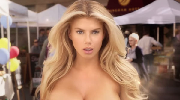 Carl's Jr Charlotte McKinney super bowl 2015 commercial sexy