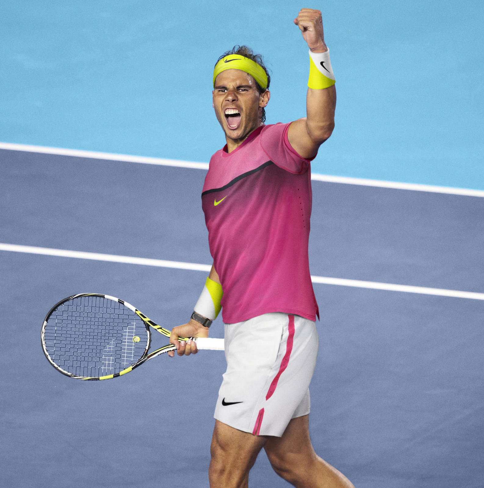 Open d'Australie 2015 - Tenue Rafael Nadal (Nike tennis outfit)