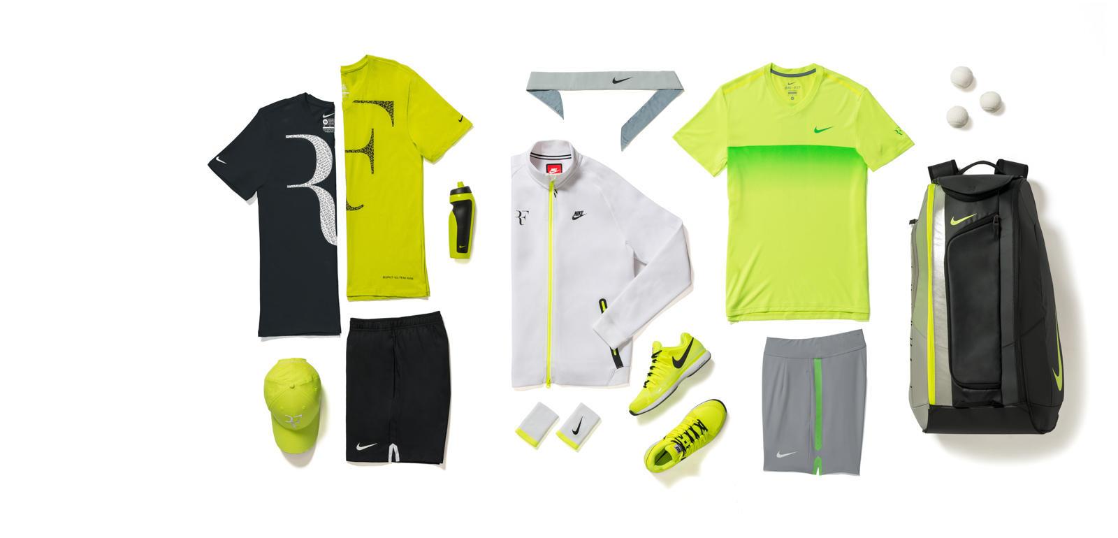 Open d'Australie 2015 - Tenue Roger Federer (Nike tennis outfit)