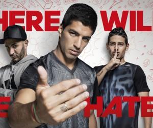 adidas provoque les «Haters» de Suarez, Benzema, Bale et Rodriguez dans sa nouvelle publicité