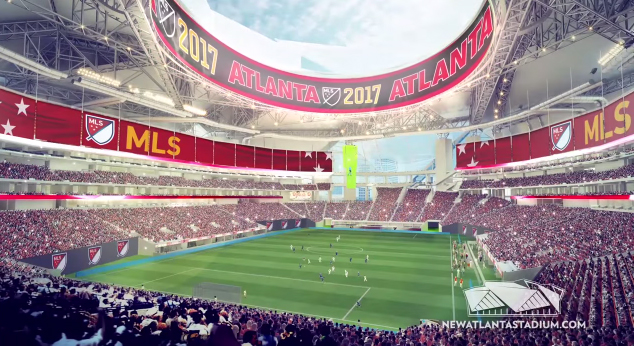 atlanta MLS new stadium 2017