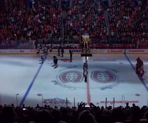 Attentats : La Marseillaise joué avant un match des Canadiens de Montréal, la Lazio de Rome sponsorisé par «Je suis Charlie»