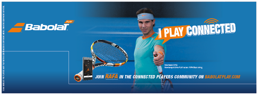 babolat play nadal connected racquet