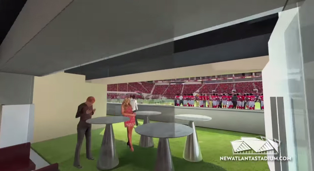 business seats new atlanta stadium